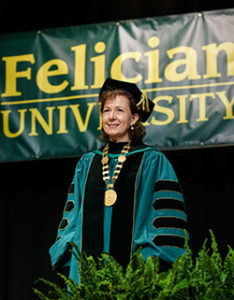 Dr. Anne Prisco at Commencement