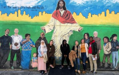 Philly Jesus Mural
